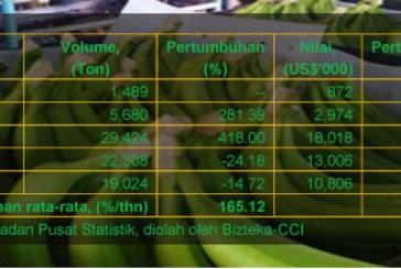 Ekspor Pisang Indonesia diperkirakan Meningkat