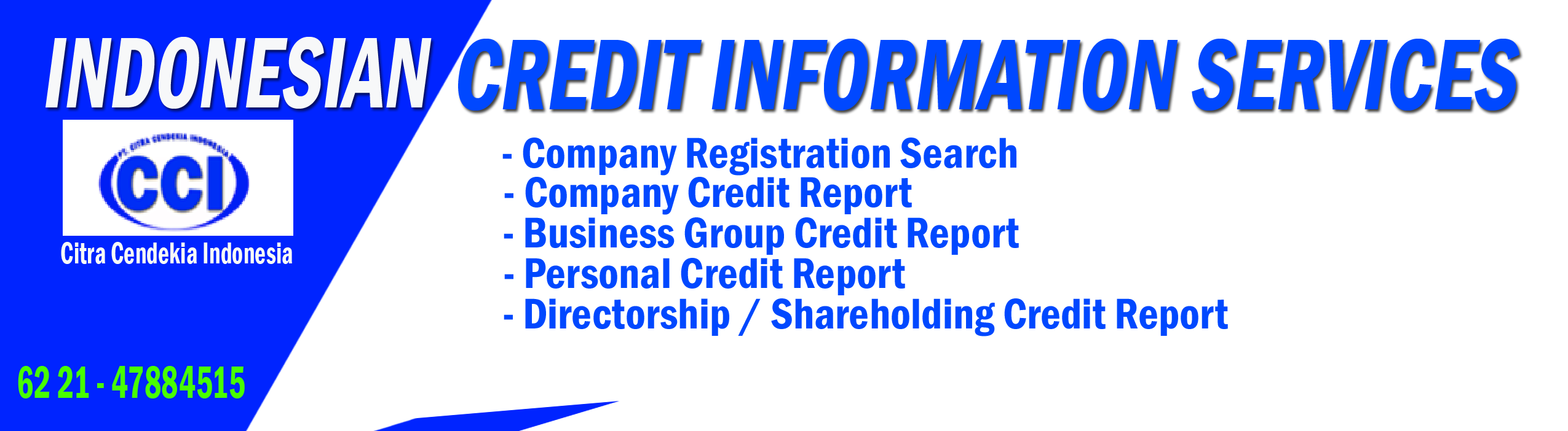 Indonesia Credit Information Services