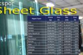 Ekspor Sheet Glass Menurut Negara Tujuan