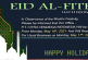 Happy Holiday – Eid Al-Fitr 1442h