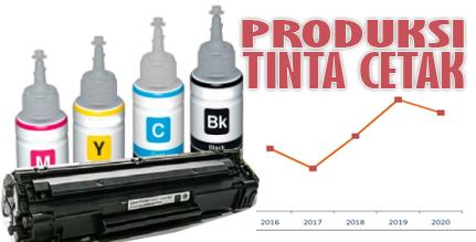 Konsumsi produsen tinta cetak